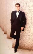 picture of Jeff Herge in a tuxedo